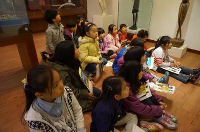 영월아프리카미술박물관에서 열린 지역민과 함께 하는 세계문화체험